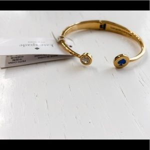 NWT Kate Spade ♠️ Open Hinged Bangle